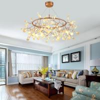 Buy cheap Acrylic Modern Chandelier Lighting lamp G4 led Chandelier Ceiling Luminaria Bedroom Suspended Lamp Firefly Lustre from wholesalers