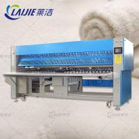 Buy cheap 380V Automatic Bed Sheet Folding Machine 2.25KW High Transmission from wholesalers