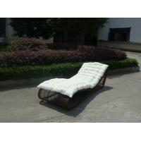 Buy cheap Outdoor Garden Rattan Sun Lounger , Comfortable Lounge Chair from wholesalers
