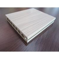 Buy cheap Hollow Co-extrusion WPC Composite Decking Tiles Rotproof for Garden from wholesalers