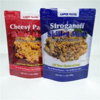 Buy cheap Digital Printing Snack Bag Packaging Stand Up Food Pouch Bottom Gusset Bag SGS FDA from wholesalers