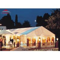 Buy cheap White Aluminum Frame Big Structure Retail Tent for Weekend Fairs product