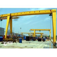 Buy cheap Monorail Wire Rope Hoist Container Gantry Crane Corrosion Resistance With Trolley from wholesalers