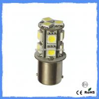 Buy cheap Blue / Green / Yellow / Amber S18 1157 Car Brake Light Bulb with 13 PCS 5050 LEDs from wholesalers