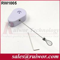 Buy cheap Burglar Proof Retractable Wire Rope Reel , Coiled Security Tethers For Shoppe from wholesalers