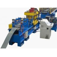 Buy cheap 15KW 24 Stations Angle Rolling Machine , Rack Roll Forming Machine Hydrualic Shear from wholesalers