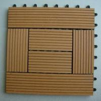 Buy cheap DIY WPC decking tiles from wholesalers