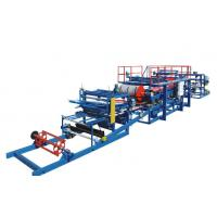 Buy cheap EPS Sandwich Panel Production Line PU / Foam Coated For Different Colors from wholesalers