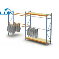 Buy cheap Powder Coated Light Duty Metal Clothes Rack, Steel Commercial Clothing Racks from wholesalers