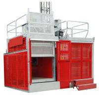 Buy cheap Industrial Passenger Construction Material Hoist Elevator 2 Ton 0 ~ 60m/min from wholesalers