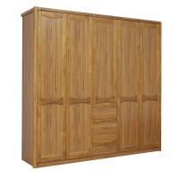 Buy cheap Open doors cloth armoire by wood panel with Sock and tie tray inside drawer from wholesalers