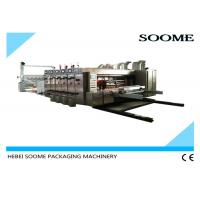 Buy cheap High Specification Corrugated Box Printing Machine , Auto 4 Colors Flexo Die Cutter from wholesalers
