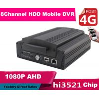 Buy cheap 8CH FULL HD 1080P Hybrid DVR Car Mobile DVR 4G Real Time Recording product