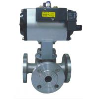 Buy cheap Pneumatic Actuator 2 inch stainless steel mini ball valve for water from wholesalers