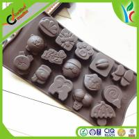 Buy cheap 15 Christmas Animal Chocolate Baking Mould Eco-friendly With Food-Grade Silicone from wholesalers