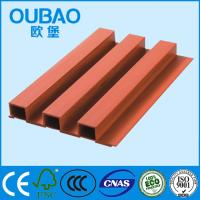 Buy cheap eco - friendly 202 * 30mm CE SGS ISO FSC certified  wood plastic composite WPC wall panels from wholesalers