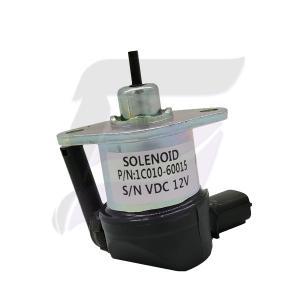 Buy cheap 1C010-60015 12V Engine V3300 V3600 Kubota Stop Solenoid product