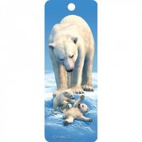 Quality PET Type Souvenir 3D Lenticular Bookmarks , Customized 3d lenticular prints for sale
