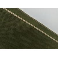 Buy cheap Woven Army Green Herringbone Flannel Fabric , 12.4oz Denim Raw Material For Jeans from wholesalers