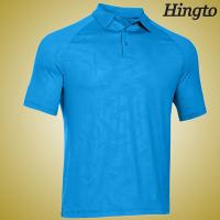 Buy cheap Durable 100 Cotton embroidered Polo Shirts ,  Light Blue Polo Shirt from wholesalers