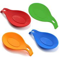 Buy cheap Heat Resistant Flexible Kitchen Silicone Spoon Rest Holder Set from wholesalers