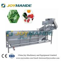 Buy cheap commercial automatic washing drying machine apple washing machinery price from wholesalers
