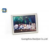 Buy cheap House Wall Printing 3D Lenticular Pictures Cute Cat / Panda Animal Flip Image from wholesalers