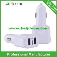 Buy cheap Fireproof Private new mould car charger type-C Quick car charger 2 USB 3 usb car charger product