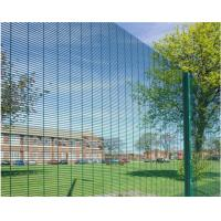 Buy cheap Hot Dip Galvanized Outdoor Security Fencing 12,7 X 76,2mm Various Gauge RHS Posts from wholesalers