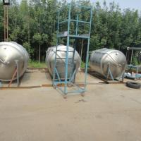 Buy cheap Vertical Industrial Brewing Equipment SS304 Fermentation Tanks Beer Mash Tun from wholesalers