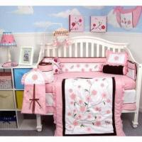 Buy cheap Dragonflies Garden Baby Crib/13-piece Nursery Bedding Set with Diaper Bag from wholesalers