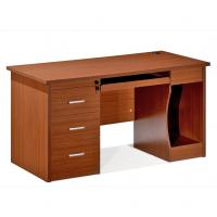 Buy cheap Fashion Office Writing Desk / Red Cherry Solid Wood Office Table from wholesalers