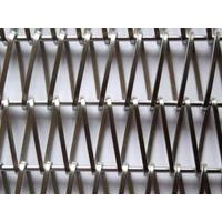 Buy cheap Stainless Metal Architectural Wire Mesh Conveyor Belt Facade Decoration from wholesalers