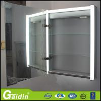 Buy cheap Illuminated furniture wall mounted mirror aluminum bathroom cabinet from wholesalers