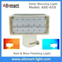 Buy cheap 18LED Red & Blue Flashing Solar Signal Warning Light for Government Project Traffic High Building Ship Boat Bridge Tower from wholesalers