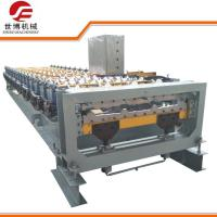Buy cheap 10-15 M/Min Trapezoidal Sheet Roll Forming Machine With Cutting Upside Down from wholesalers