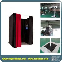 Buy cheap Decent Pipe and Drape Photo Shoot booth Fits for Photography Backdrop Unique Design Exhibition Booth from RK from wholesalers