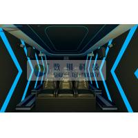 Buy cheap Cabin Box 7D Movie Theater Electronic System Simulation Chairs For Amusement Park product