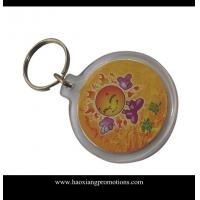 Buy cheap Latest Customized Your Own Logo Design Plastic Acrylic Keychain from wholesalers