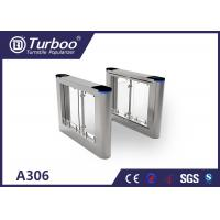 Buy cheap High Temperature Resistance Swing Barrier Gate With Voice And Strobe Light Alerts from wholesalers