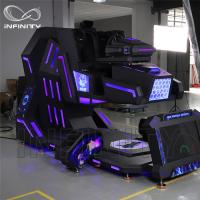 Buy cheap Cockpit 360 Degree VR Motion Racing Simulator For Shopping Mall product