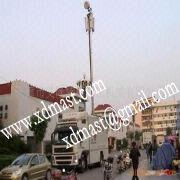 Buy cheap 2m Roof Antenna Pneumatic Folding Telescopic Mast For CCTV and Communication. from wholesalers