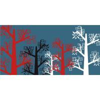 Buy cheap Tricolor Tree Architectural Interior Wall Panels Bamboo Fiber Water Resistant from wholesalers