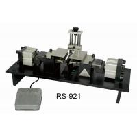 Buy cheap 220V Pneumatic Radial Cutting Machine Double Blade Lead Bending Machine from wholesalers
