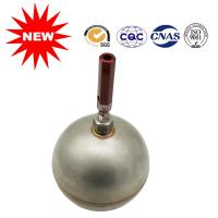 Buy cheap Compact Round Metal Float Ball With Handle Threaded Unidirectional Flow Direction from wholesalers