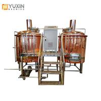Buy cheap 300l 500l red copper beer brew kettle / brewing tank for sale from wholesalers