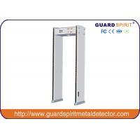 6 Muti - Zones Security Walk Through Metal Detector Self Diagnostic / Video Function