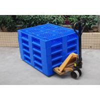 Buy cheap Blue HDPE Plastic Pallet Deck High Abrasion Resistance For Warehouse Packaging from wholesalers