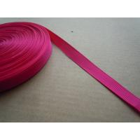 Buy cheap Polyester nylon Custom Color Shiny Elastic Binding Tape , Elastic bra straps from wholesalers