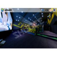Buy cheap Arc / Flat Screen Electric Simulator 4D Movie Theater Home Theater System Simulator from wholesalers